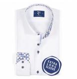 R2 Westbrook Overhemd met extra lange mouw 104.wsp.xls.001/004 - wit