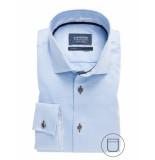 Ledûb Lange mouw 0137779/120120 overhemd met licht blauw