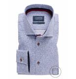 Ledûb Lange mouw 0137786/450450 overhemd met rood