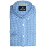 Chris Cayne Chc29s125.1245/8084 overhemd met korte blauw