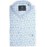Chris Cayne Overhemd lange mouw chc29s128.1253/4183 - blauw