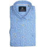 Chris Cayne Overhemd lange mouw chc29s128.1255/5007 - blauw