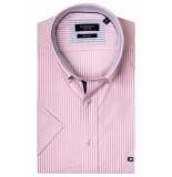 Giordano 916002/50 overhemd met korte mouwen roze