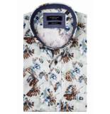 Giordano 916015/71 overhemd met korte mouwen groen
