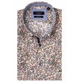 Giordano 916016/31 overhemd met korte mouwen rood