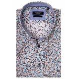 Giordano 916016/51 overhemd met korte mouwen roze