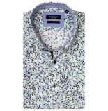Giordano 916016/71 overhemd met korte mouwen groen