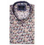 Giordano 916020/31 overhemd met korte mouwen roze