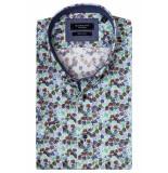 Giordano 916020/71 overhemd met korte mouwen groen