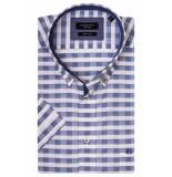 Giordano 916312/60 overhemd met korte mouwen blauw