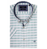 Giordano 916312/71 overhemd met korte mouwen groen