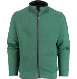 Baileys Vest met rits 912204/577 gebreid groen