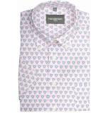 GCM overhemd met korte mouwen roze