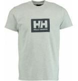 Helly Hansen 53285/949 t-shirts met korte mouwen 50% katoen / 50% polyester grijs