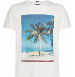 Tommy Hilfiger Summer photo print t mw0mw10806/118 tommy wit
