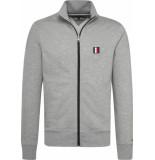 Tommy Hilfiger Tommy logo zip through mw0mw10755/501 tommy grijs