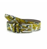 Scarpe Pazzo  Belt - yellow flower geel