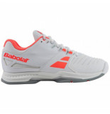 Babolat Tennisschoen sfx all court women white pink wit