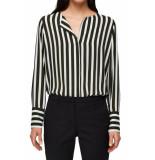 Selected Femme Slf stina dynella ls shirt rosin stripe zwart
