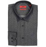 Hugo Boss Elisha01 overhemd 50388002/001 2 antraciet