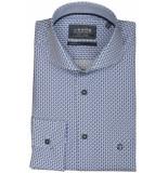 Ledûb Overhemd lange mouw 0137349/140160 blauw