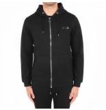 BALR. Qseries zipped hoodie zwart