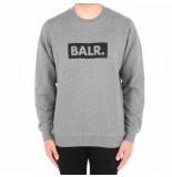 BALR. Brand club crew neck sweater grijs