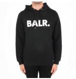 BALR. Brand hoodie zwart