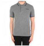 BALR. Brand etal logo polo shirt grijs