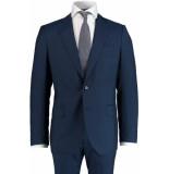 Bos Bright Blue Blue milano modern fit kostuum 1310.001/402 - blauw