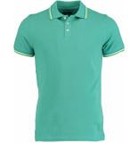 Bos Bright Blue Blue sunny polo pique 19108su41bo/361 sea green groen