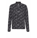 DIDI Top met all-over print grijs