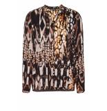 DIDI All-over print blouse bruin