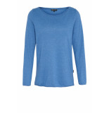 DIDI Basic trui met lange mouwen blauw
