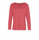 DIDI Basic trui met lange mouwen roze