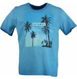 Basefield T-shirt 1/2 219014257/611 licht blauw