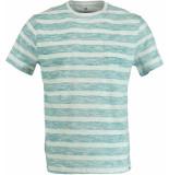 Basefield R/n t-shirt 219014309/603 groen