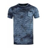 Gabbiano T shirt 13884 navy blauw