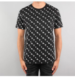 Off The Pitch A-over 2.0 tee zwart