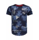 Gabbiano T shirt 13829 navy blauw