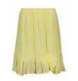 Saint Tropez Woven skirt above on knee t8018 2041 yellow geel