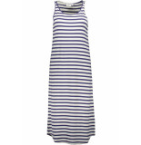 Saint Tropez Jersey dress below knee t6650 ribbon 9242 blauw