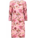 Saint Tropez Jersey dress above knee t6513 7351 a.pink roze