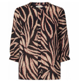Lollys Laundry 19313 5079 amalie 67 blouse zwart
