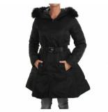 Goldie Estelle Estee posh coat zwart