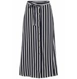 Vero Moda Vmsasha ancle skirt noos 10215361 navy r/snow white blauw