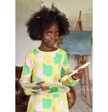Room Seven  Henriette sweat jurk geel