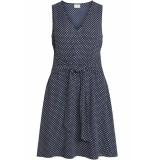 VILA Vidottia s/l dress 14051394 navy r blauw
