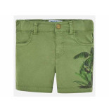 Mayoral Bermuda print palm olijf groen