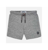 Mayoral Sweat short basic grey melee grijs